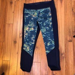 under armour crop pants size L